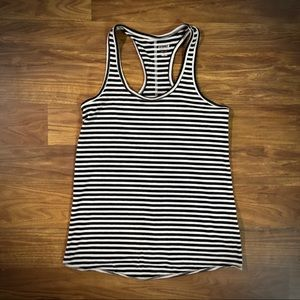 Mossimo Supply Co. Women's Striped Racerback Tank